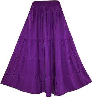 Best long purple skirt Reviews