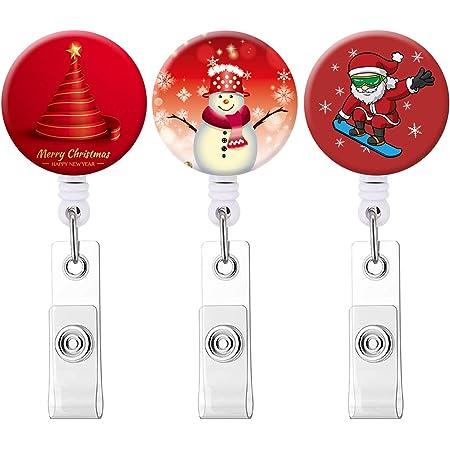 RN Badge Reel Holiday Badge Reel Glitter Baby Mean One Badge Reel Medical Badge Reel Christmas Badge Reel Nurse Badge Reel