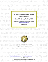 Statistical Analysis for OPM3 Assessments: Professional Paper