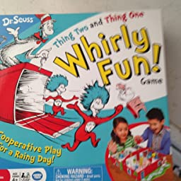 Seuss Thing Two And Thing One Whirly Fun Board Game Dr