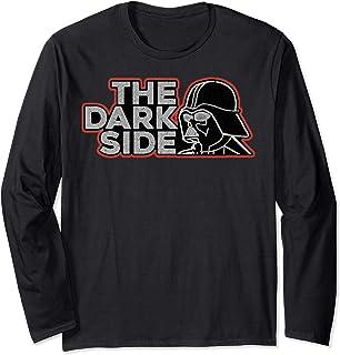 Star Wars Darth Vader Dark Side Pocket Logo Manche Longue