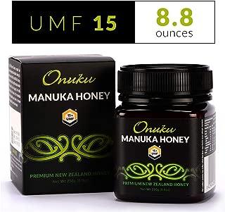 Onuku Manuka Honey Certified UMF 15+ (MGO 515+), New Zealand, 250g (8.8oz)