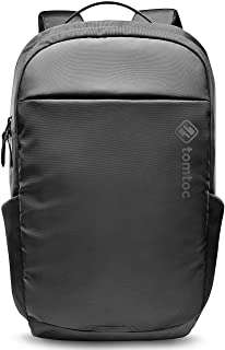 tomtoc 15.6 Inch Professional Business Laptop Backpack, Premium Cordura Material Waterproof Travel Computer Backpack Rucksack with Large Capacity for Business Men & Women