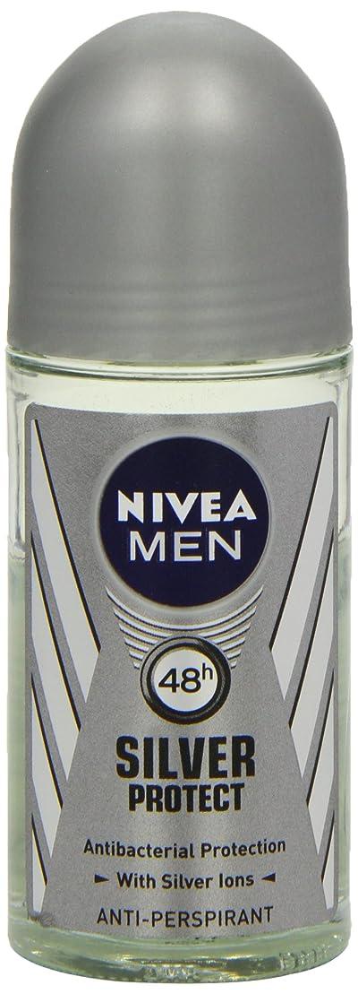 恥ずかしさピービッシュフィードバックニベア メンズ シルバープロテクト ロールオン デオドラント 48時間 アンチパースピラント 50ml (透明) 並行輸入品 Nivea for Men Silver Protect Anti-Perpirant Roll-on 50 ml