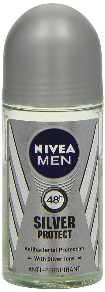 地図特殊招待ニベア メンズ シルバープロテクト ロールオン デオドラント 48時間 アンチパースピラント 50ml (透明) 並行輸入品 Nivea for Men Silver Protect Anti-Perpirant Roll-on 50 ml