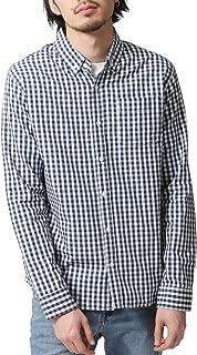[ジップファイブ] ZIP FIVE ブロード ボタンダウン 長袖 シャツ 綿100% メンズ br2008