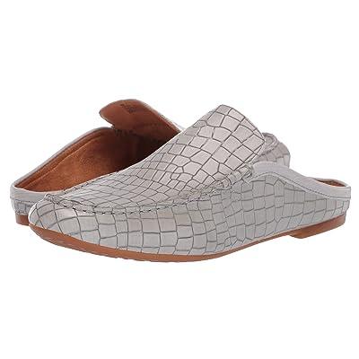 Born Capricorn Annamaria Collection (Grey Croc Full Grain Leather) Women
