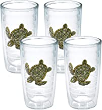 Tervis Tumbler, 16-Ounce, Sea Turtle, 4-Pack