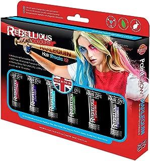 Paint Glow Rebellious Hair Streaks Kit Temporary Semi Permanent Set
