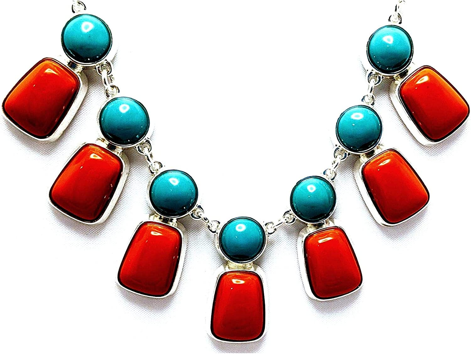 Exotic collar necklace