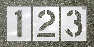 8be9d98fa8f82 C.H. Hanson - Number Kit 12 Pc. - Stencil Font Size 24