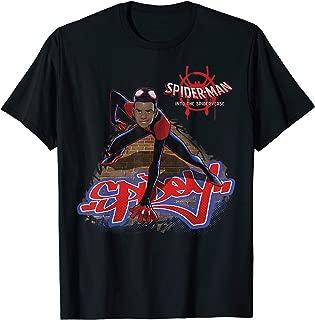 Spider-Man Spiderverse Miles Morales Climb T-Shirt T-Shirt