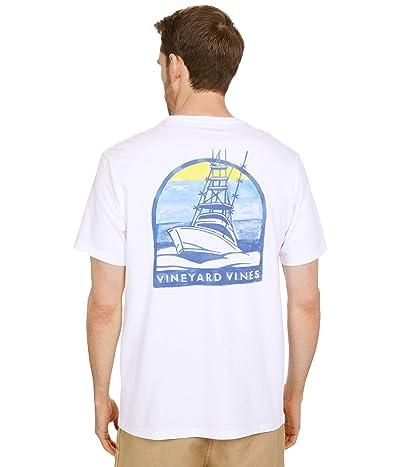 Vineyard Vines Short Sleeve Sunset Cruise Pocket T-Shirt