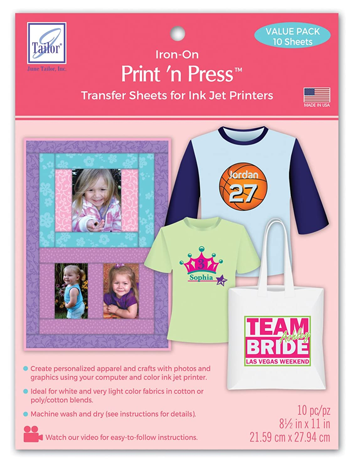June Tailor JT-909 Print 'n Press (10 Pack)