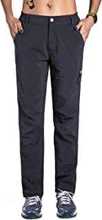 unitop Women's Breathable Stretch Outdoor Quick Dry Pants