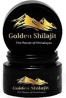 Golden Shilajit Fresh Resin - 50 Grams - World's Finest Shilajeet Guaranteed Directly From It's Origin -