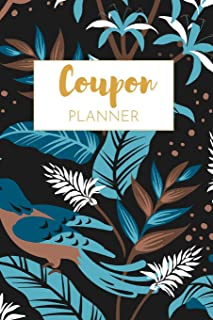 Coupon Planner: Best coupon organizer, Book for coupons, 6 x 9 170 pages