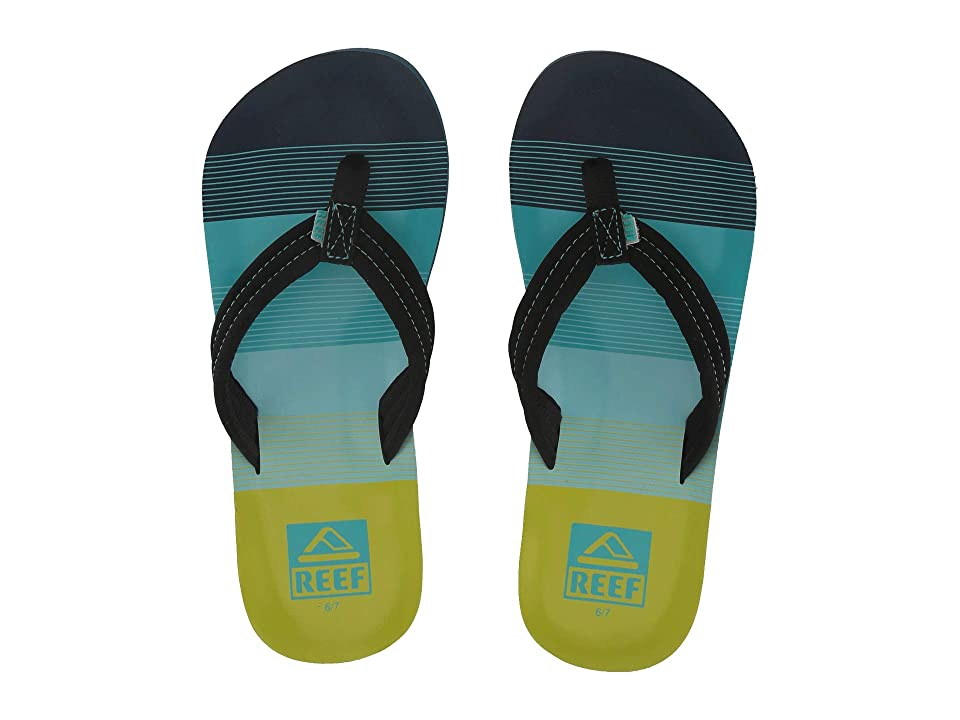 Reef Kids Ahi (Little Kid/Big Kid) (Aqua/Green) Boys Shoes