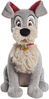 Disney Classics Collectible 8.5 Inch Beanbag Plush, Tramp, Disney Lady and the Tramp, Stuffed Animal, Dog, by Just Play