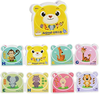 Baby Bath Books,Baby Waterproof Bath Time Book Educational Learning Animal Theme Nontoxic Fabric Soft Baby Cloth Books,Wat...