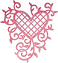 Cheery Lynn Designs B368 Lattice Heart & Vines