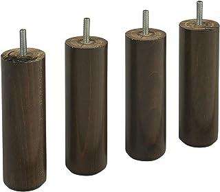 colore: Bianco Confezione da 4 15 cm Piedi cilindrici Someo
