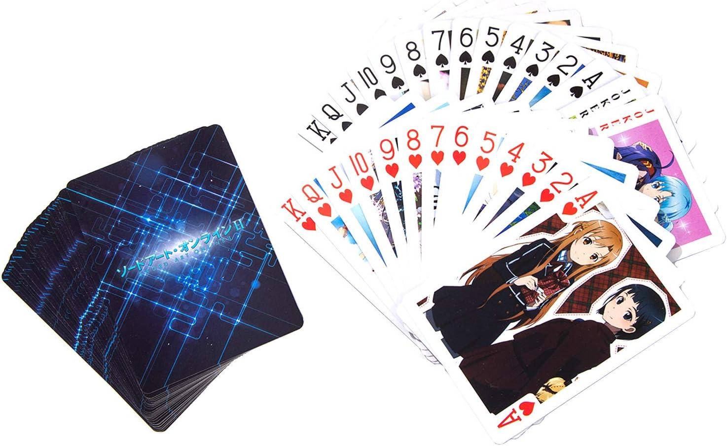 Attack ON Titan Anime Paper Poker