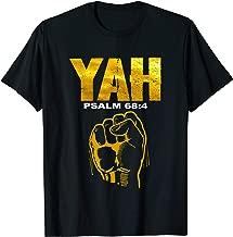 Hebrew Israelite Gold Yah Clothing Yahweh Gift T-Shirt
