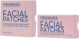 Frownies - Forehead & Between Eyes (144 Patches) + Frownies Corners Of Eyes And Mouth (144 Patches) Combo Pack