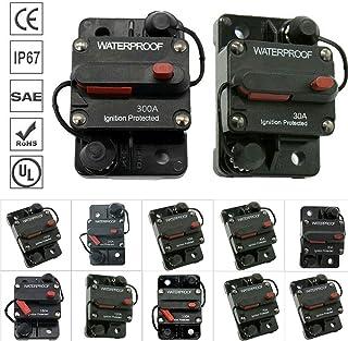 Bestine Car Audio Inline Circuit Breaker, Fuse Holder, Inline Fuse Block for Car Audio Solar Inverter System Protection 150A