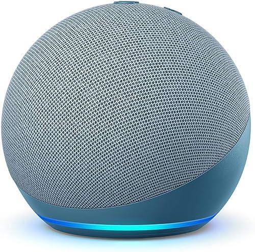 Echo Dot (4.ª generación) | Altavoz inteligente con Alexa | Azul grisáceo
