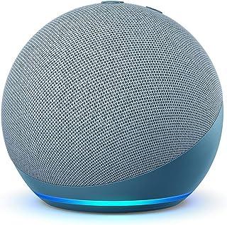 Nuevo Echo Dot (4.ª generación) | Altavoz inteligente con Alexa | Azul grisáceo