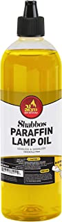 Ner Mitzvah Paraffin Lamp Oil - Yellow Smokeless, Odorless, Clean Burning Fuel for Indoor and Outdoor Use with E-Z Fill Cap and Pouring Spout - 32oz