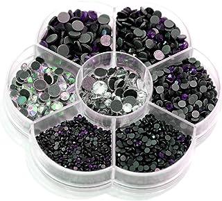 Lot de 500 stars transparent crystal thermocollant hotfix a Repasser dos plat