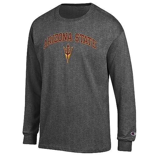 05682905 Elite Fan Shop NCAA Men's Long Sleeve Shirt Dark Charcoal Gray