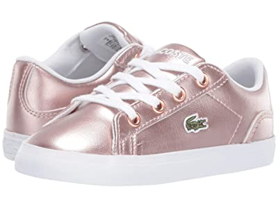Lacoste Kids Lerond 119 4 CUI (Toddler/Little Kid) (Pink/White) Girl