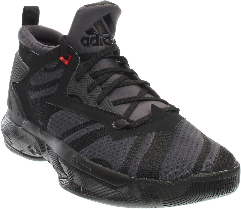 Adidas Herren D D Lillard 2Basketball Core Schwarz Utility Schwarz Vivid rot D (M) US  billiger Verkauf