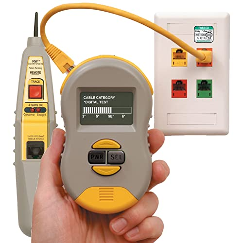 image regarding Cat6 Cable Tester With Printable Results identified as Cable Certifier: