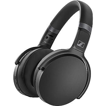 Sennheiser ゼンハイザー HD 450BT BLACK ノイズキャンセリングBluetoothヘッドホン, 低遅延, AAC, aptX-LL, Bluetooth 5.0, ボイスアシスタント連携, Smart Control App, 【国内正規品】 508386