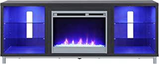 Ameriwood Home Lumina Fireplace Stand for TVs, up to 70