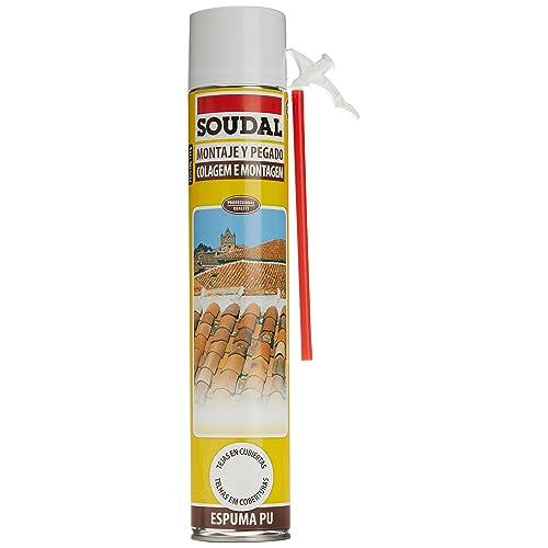 Soudal M276615 - Espuma de poliuretano con canula tejas 750 ml