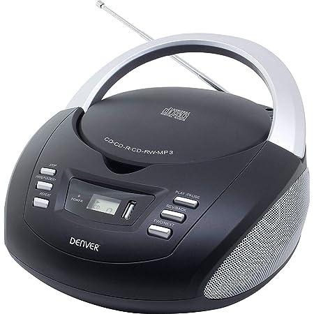 Denver Tcu 211 Tragbare Stereo Boombox Mit Usb Elektronik