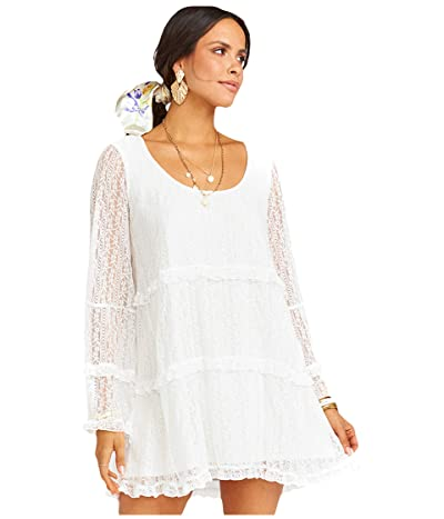 Show Me Your Mumu Mansfield Mini Dress (Rodeo Floral Lace White) Women