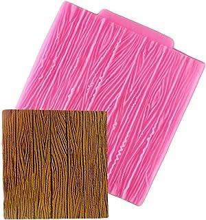 Arbre Texture écorce de Bois Motif Tapis Fondant au Chocolat décoration de gâteau Sugarcraft Moule de Cuisson