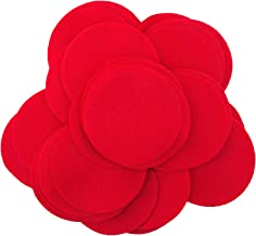 Playfully Ever After 2 Inch Red 44pc Felt Circles