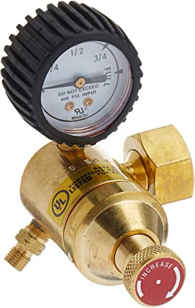 Overpressure Protection Device Zamak Cavagna Group 52-A-490-0013 Dual Stage Regulator Type 524AS Horizontal Vent