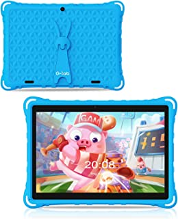 G-Tab P2000 10.1 inch Kids Tablets, 1GB RAM 16GB ROM, Android 9.0 Tablet,IPS HD Display,Dual Camera Childrens Tablet with ...