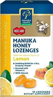 Manuka Health, MGO 400+ Manuka Honey Lozenges with Lemon, 15 lozenges, 2.66 oz
