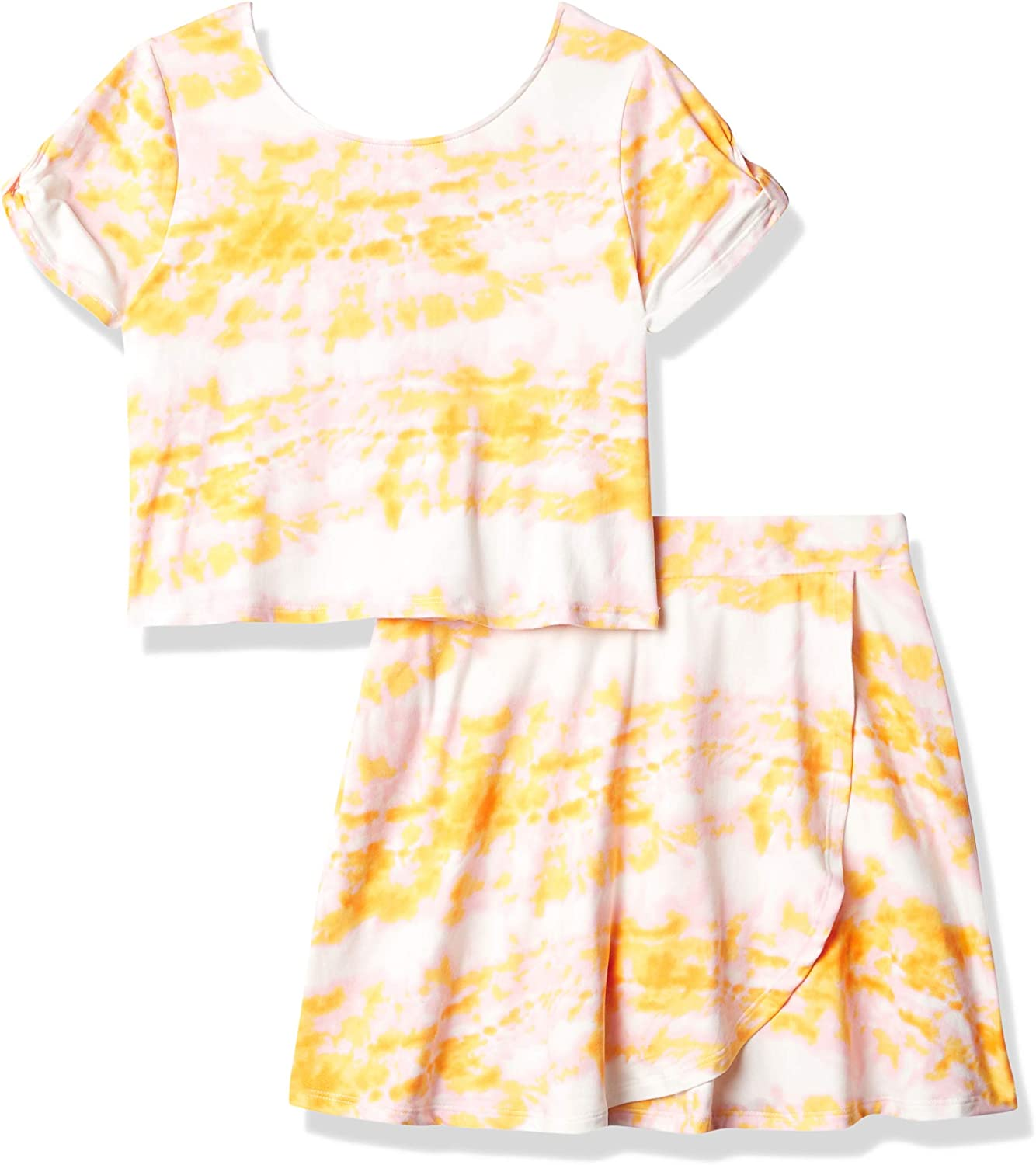 Speechless girls Short Sleeve Top and Skirt Set: Clothing, Shoes & Jewelry