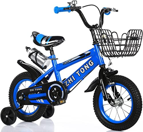 online barato Tongyue Bicicletas para para para Niños, adecuado para Niños y niñas Rueda auxiliar de alto carbono antideslizante Neumático de alta seguridad 2-10 años de edad 88-121cm  con 60% de descuento